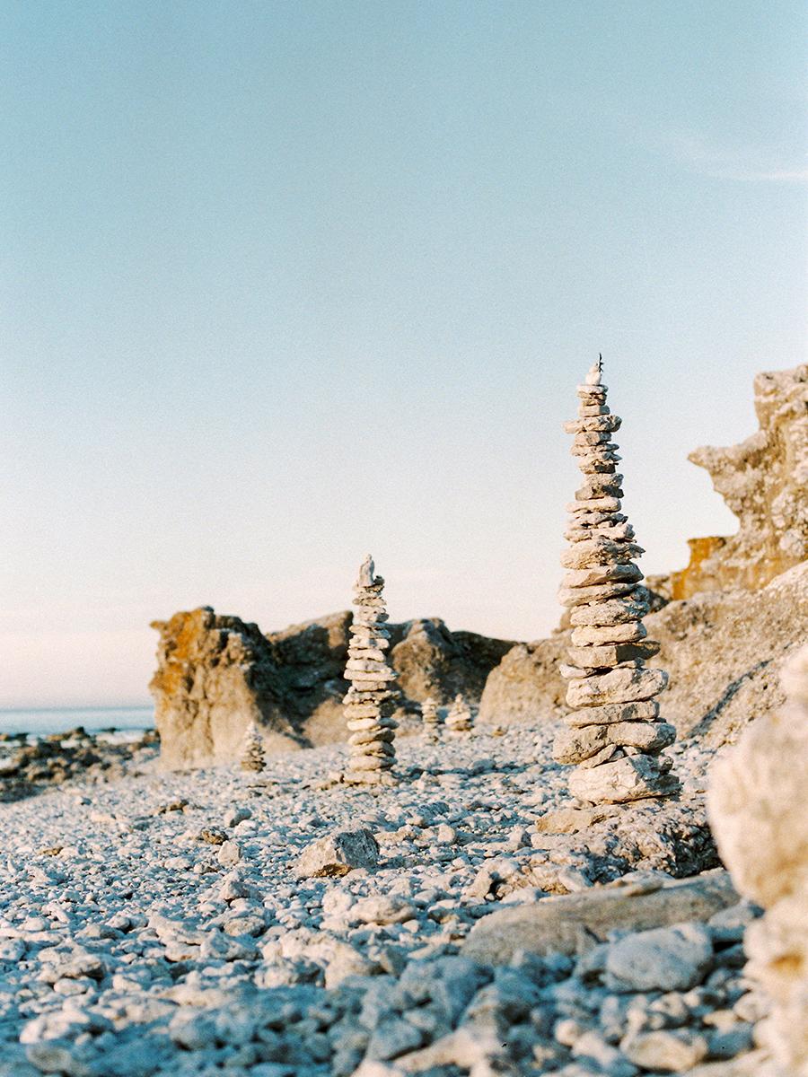 stenstrand på gotland